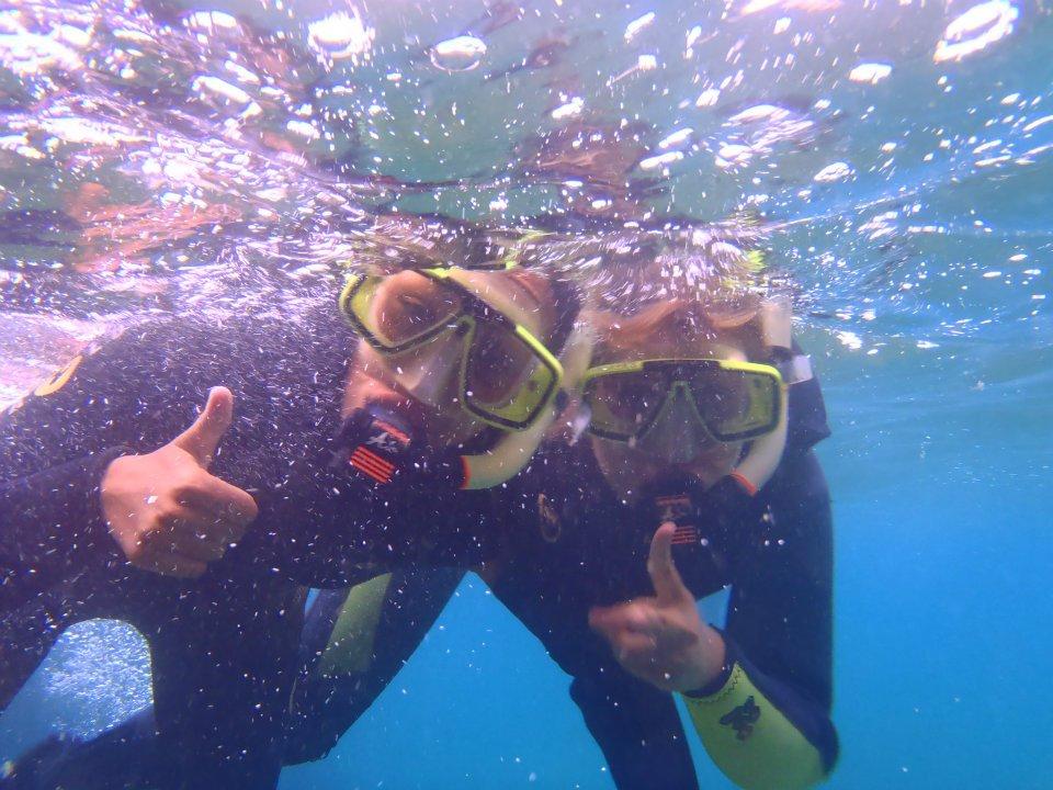 Snorkeling dans la réserve naturelle de Carry le rouet avec aqua evasion