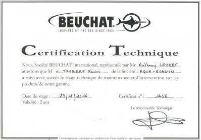 Certificat sav beuchat 1