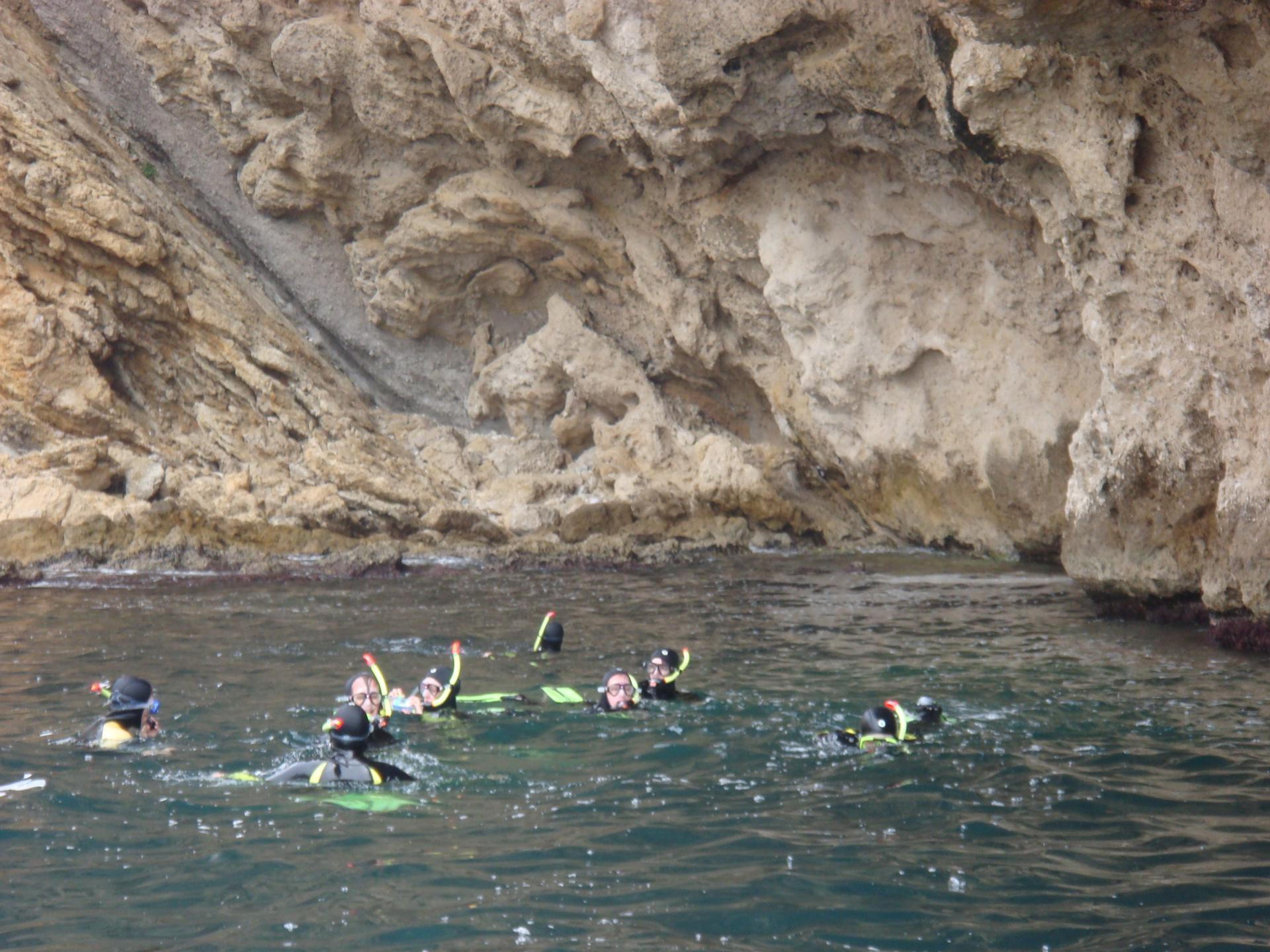 Snorkeling en provence