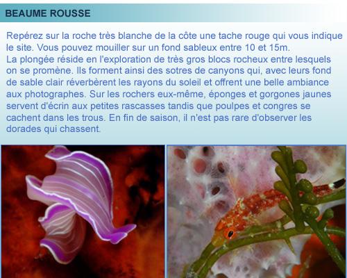 Roches Rousse, Cote Bleue, Provence