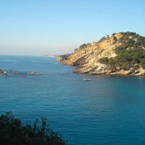 Calanque de Mejean, belle plongée de la cote bleue en provence, Carry le Rouet, France