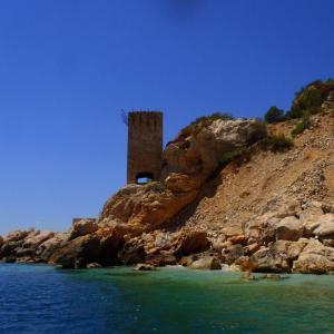 Plage de la calanque d'elevine, cote bleue, provence, France, avec Xavier et Laure TRUBERT du Club Aqua Evasion