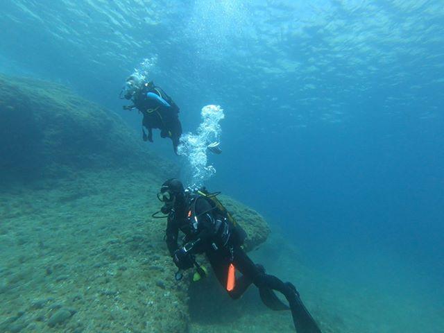 plongée sur la côte bleue