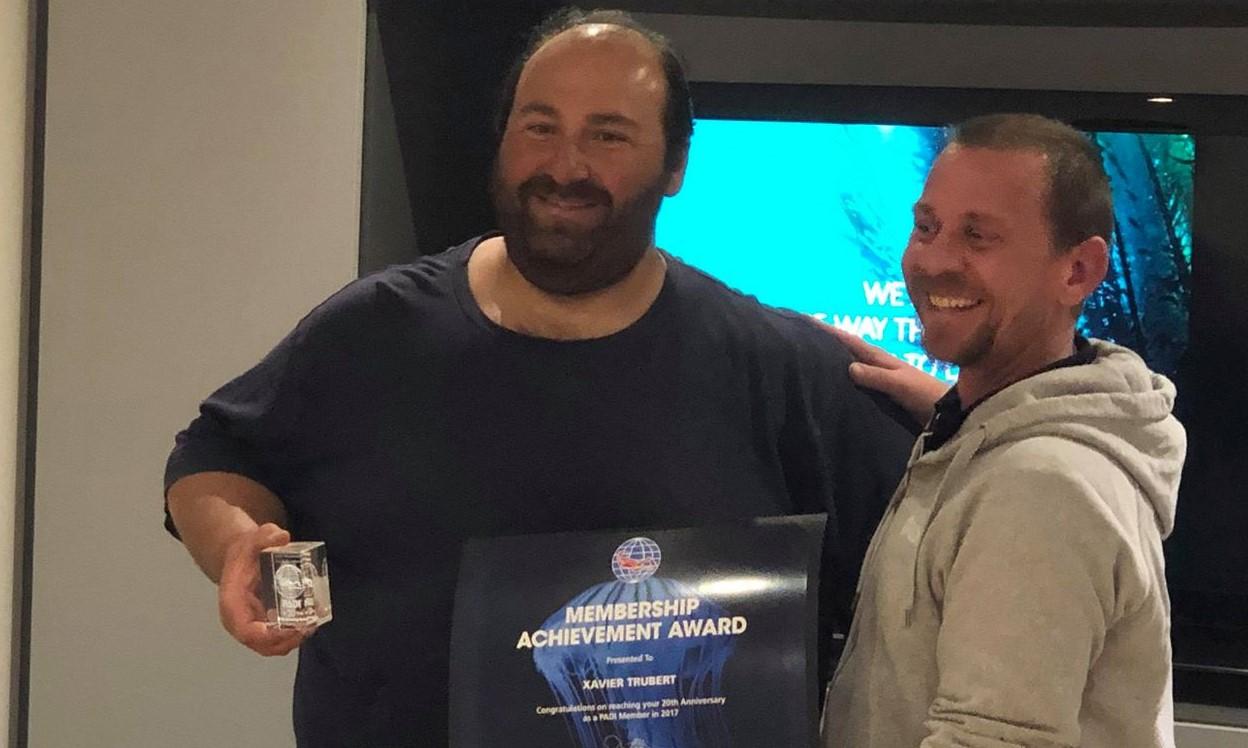 Award padi aqua evasion 1