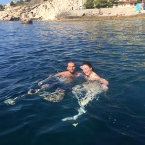 Baignade en mer