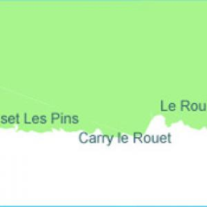 Carte plongée de la cote bleue, Provence subaquatique