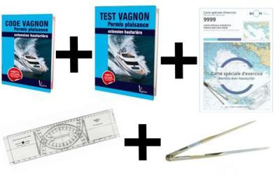 Code vagnon pack code test carte regle cras compas permis plaisance extension hauturiere
