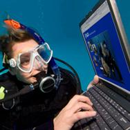 internet et la plongée sous marine