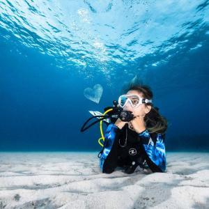 J aime la plongee