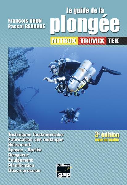 Le guide de la plongee nitrox trimix tek 3eme edition