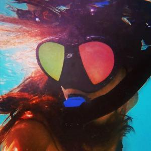 Les femme et la plongee