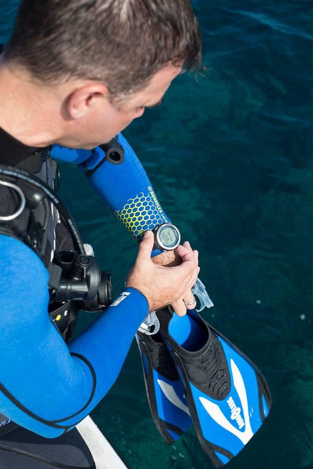 Plongée avec ordinateur de plongee