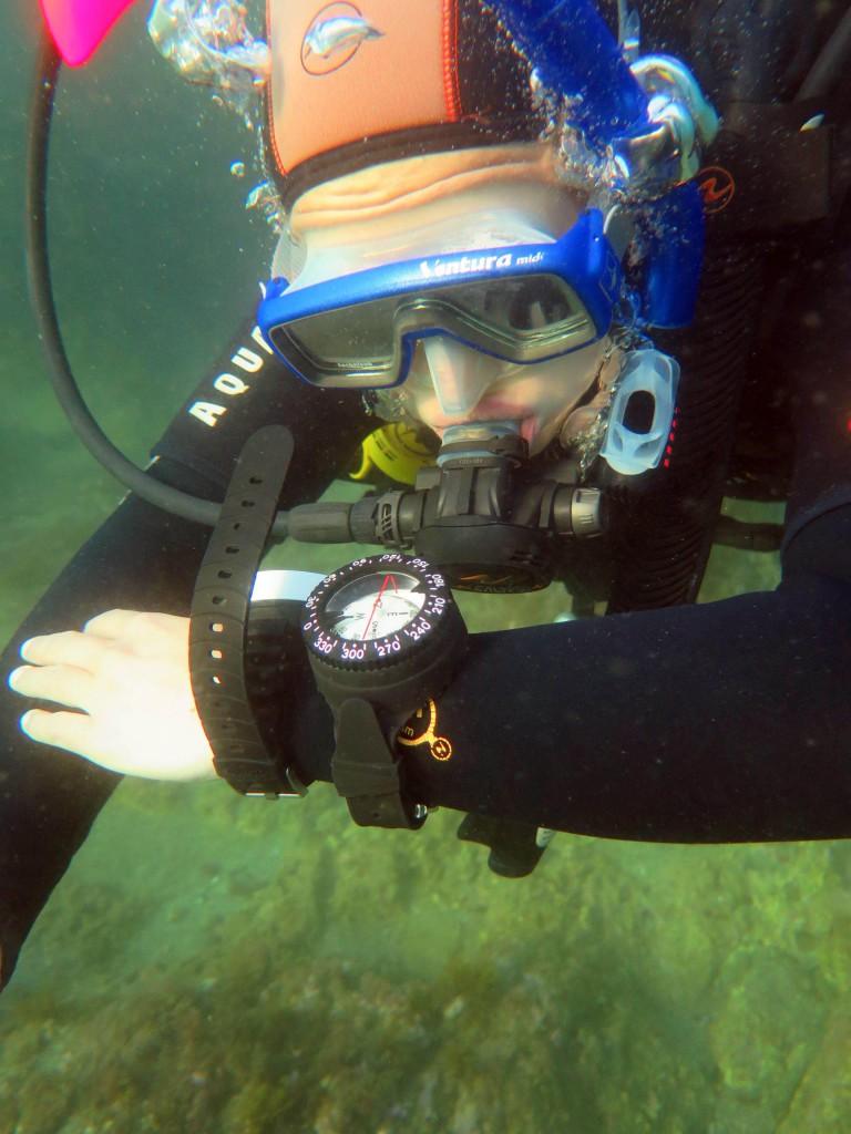 Orientation sous marine