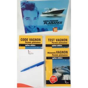 Pack permis cotier edition vagnon