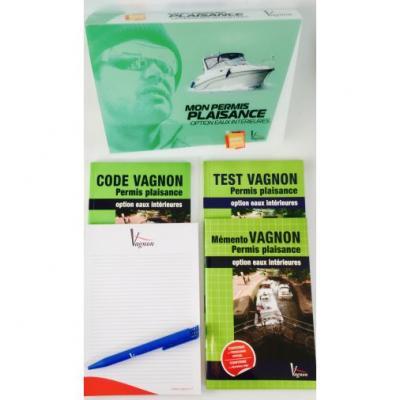 Pack permis eaux interieures edition vagnon
