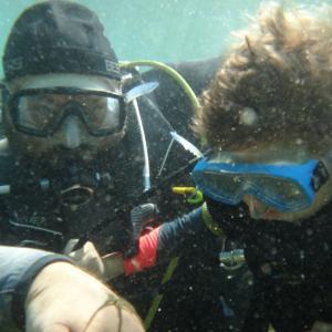Plongeur enfant
