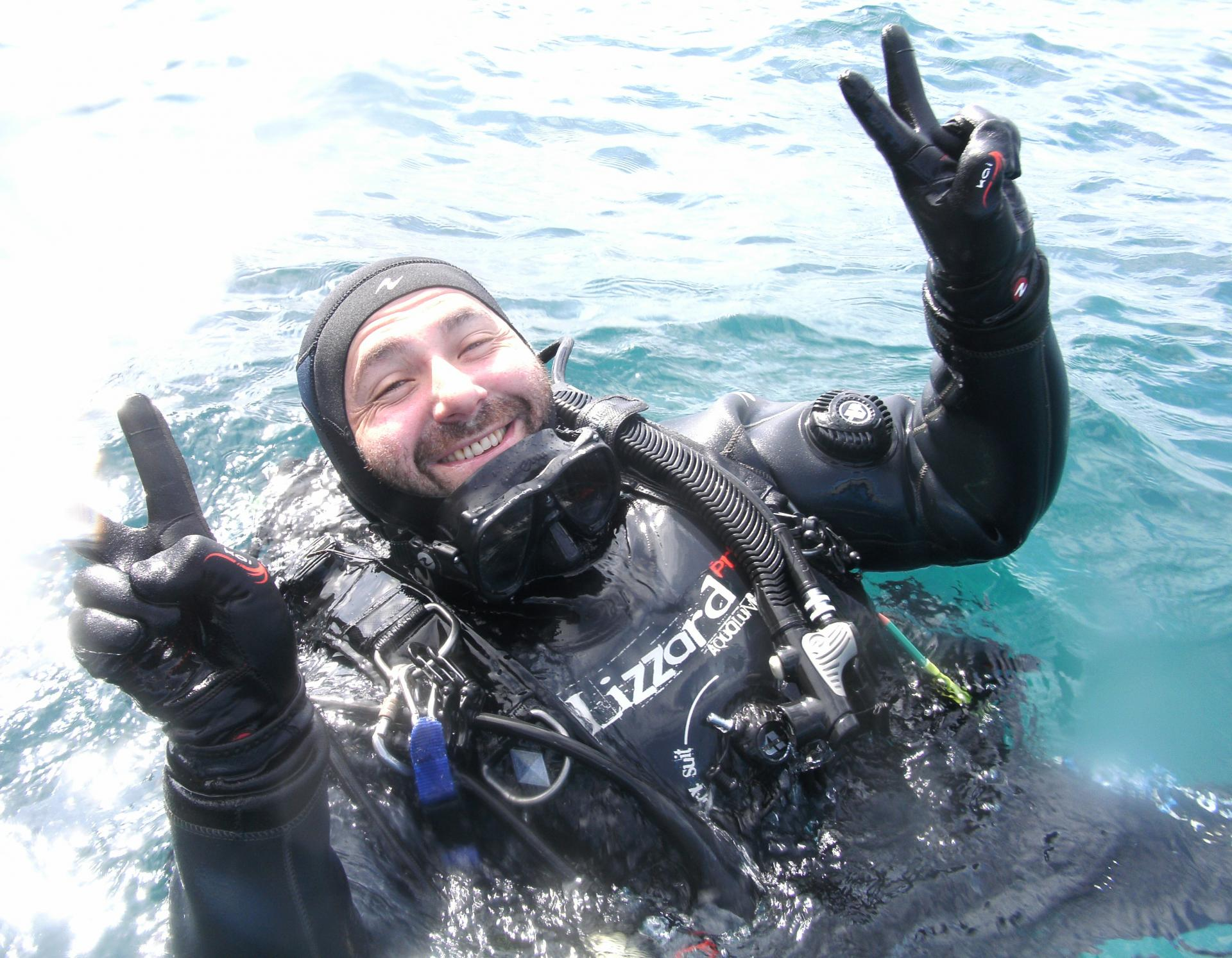 Xavier trubert plongeur